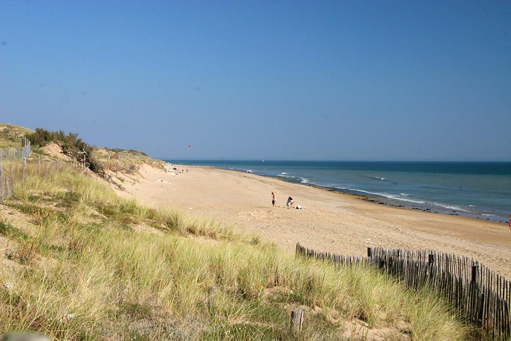 Un camping situé en Vendée en bord de mer