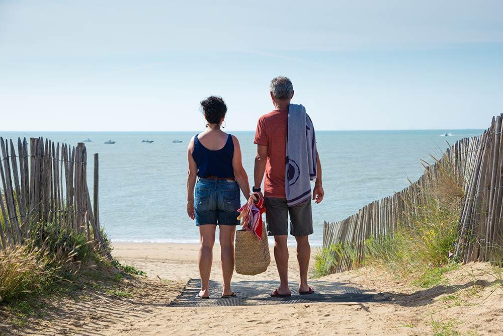 Camping proche plage pour faire de la planche à voile en Vendée