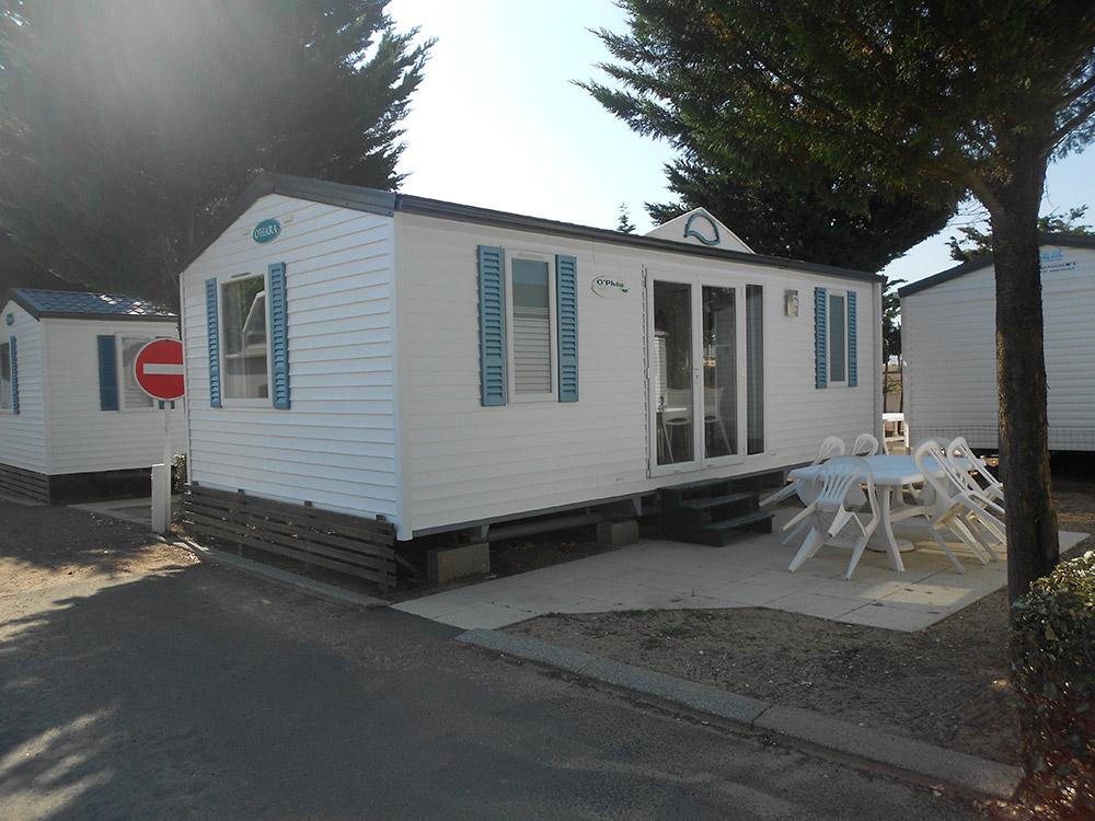 mobil home du camping en vendée