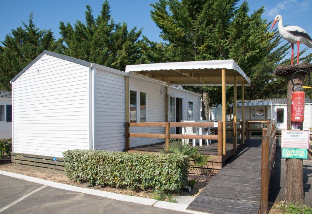 location mobil home PMR en Vendée