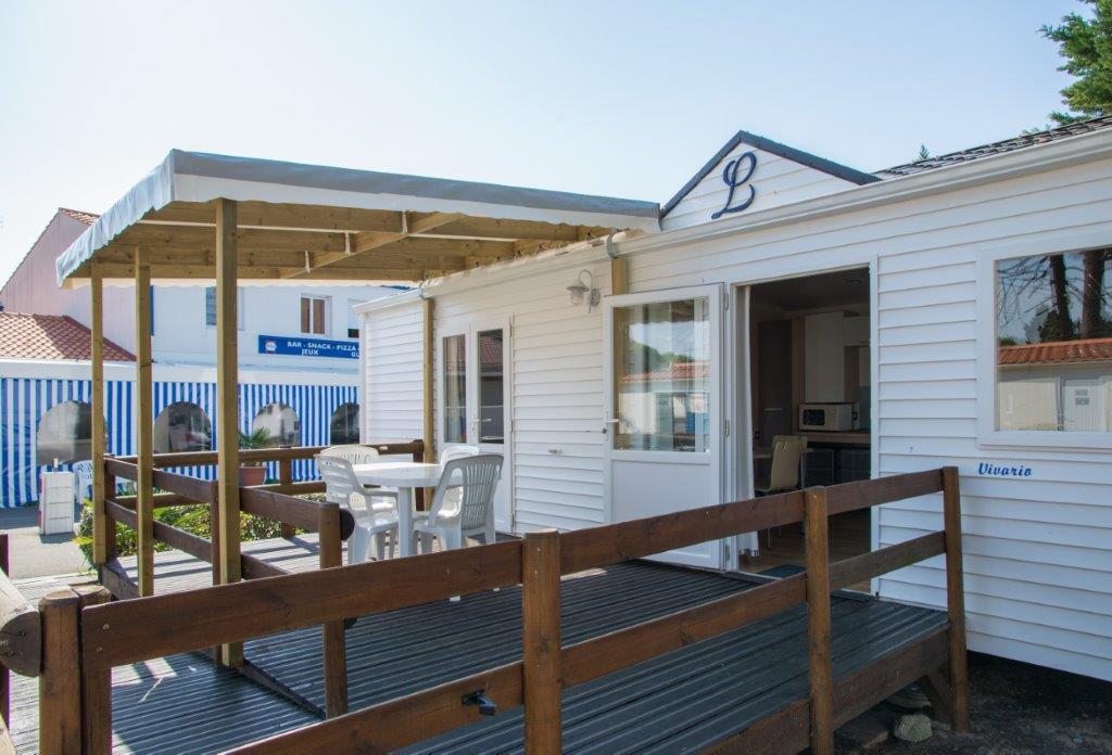 location mobil home PMR camping bord de mer