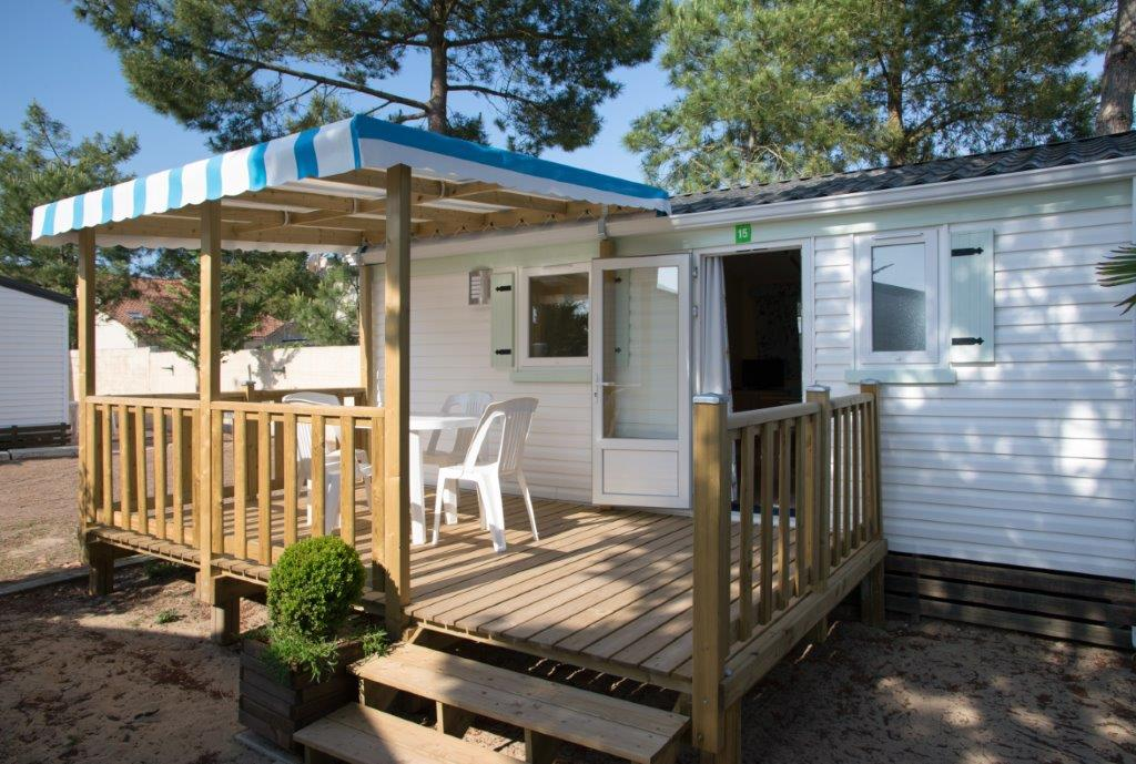 location mobil home avec terrasse
