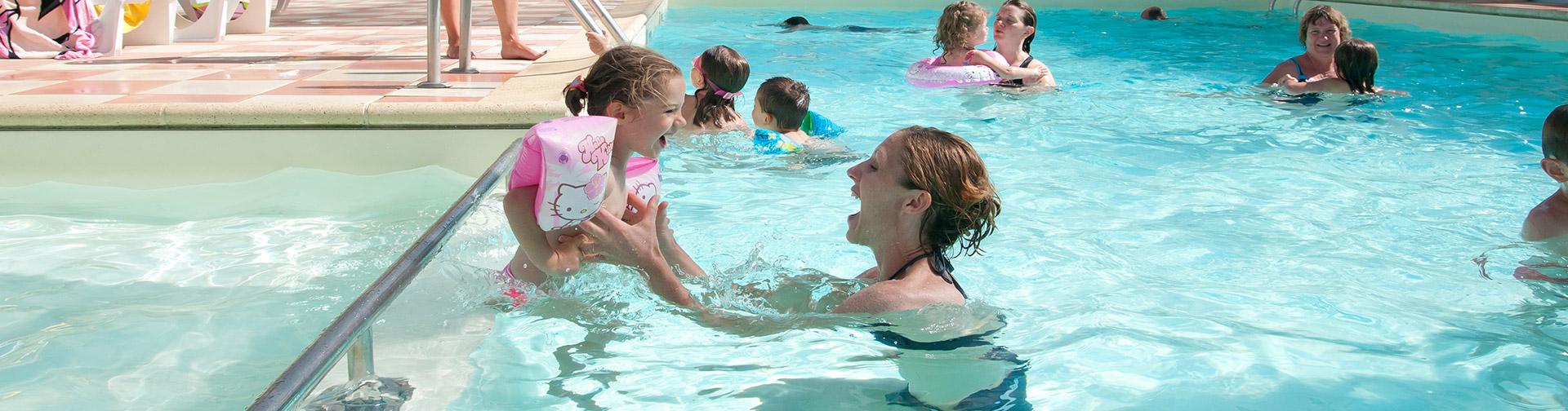 La piscine du camping calme et familial Sainte Anne