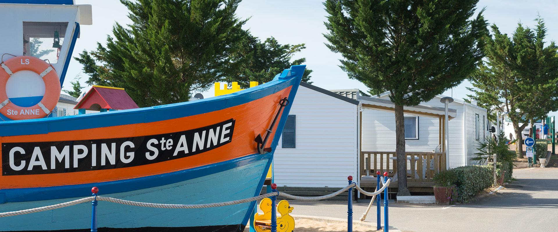 Camping la Tranche sur Mer accès direct plage