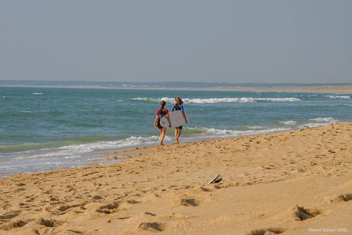 surf plage Vendée