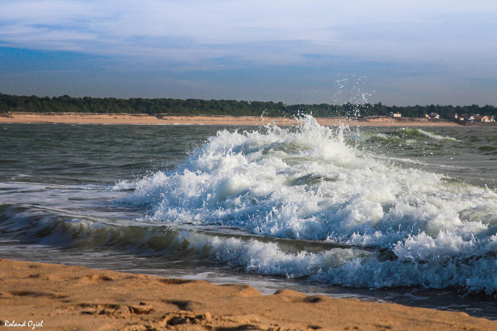 plage de la tranche sur mer proche du camping
