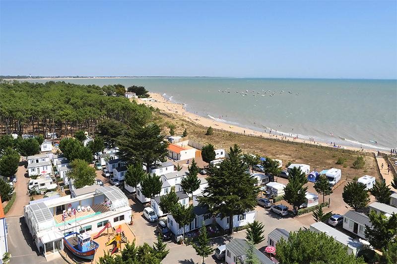 La Tranche sur Mer en Vendée la piscine chauffée