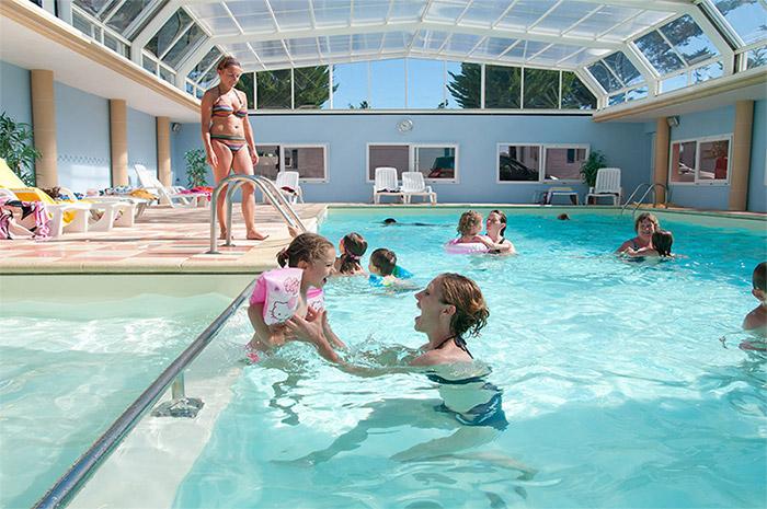 piscine du camping à taille humaine La Tranche sur Mer