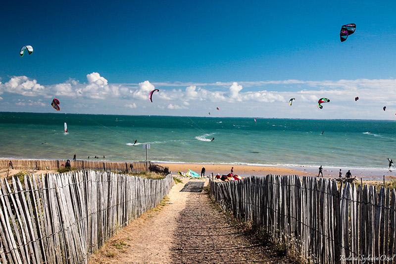 vacances camping accès direct plage La Tranche sur Mer
